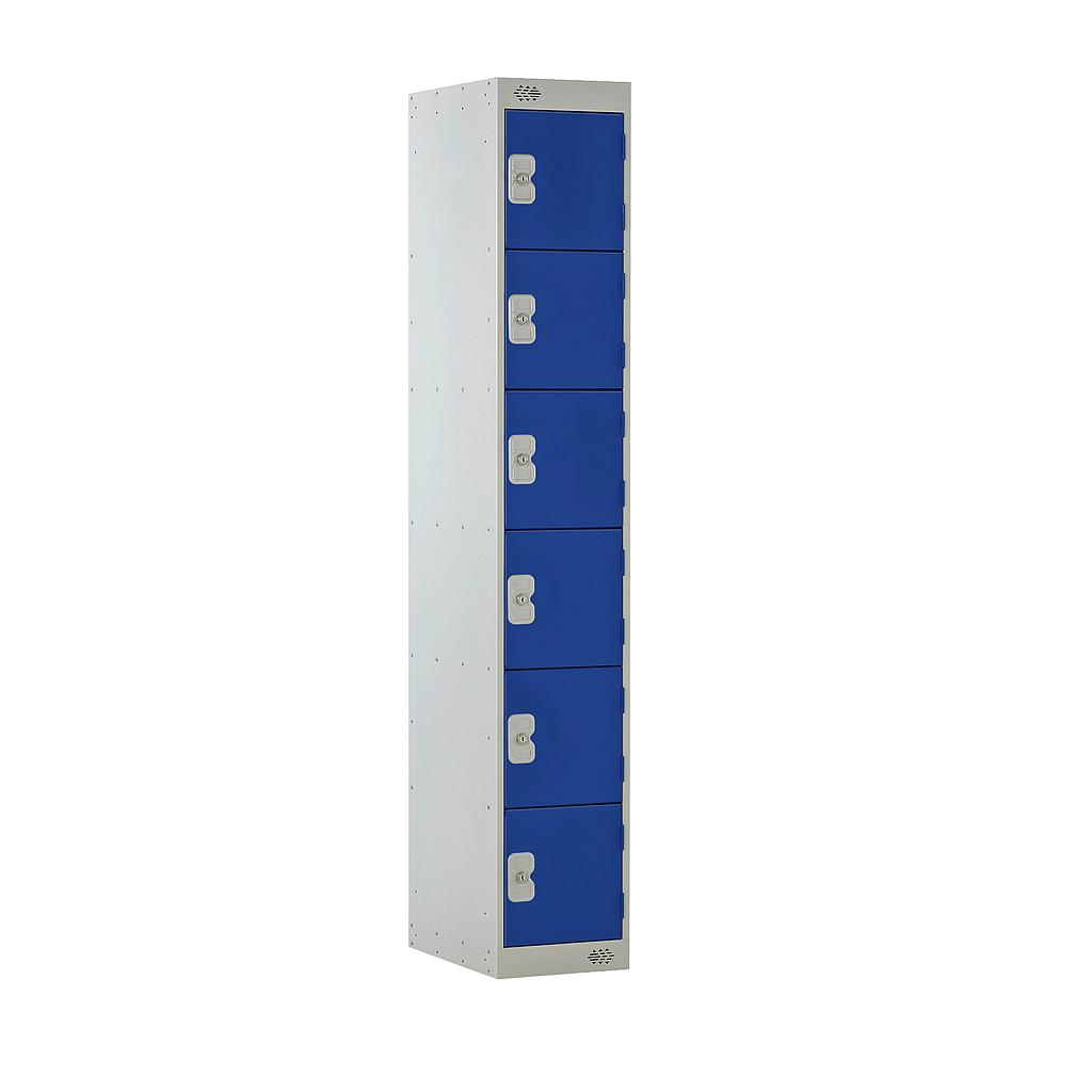 6 Door Locker 300X450X1800 Blue Door