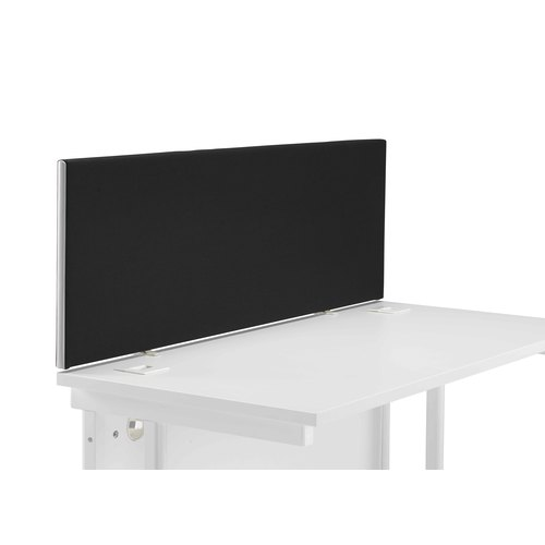 Straight Upholstered Desktop Screen
