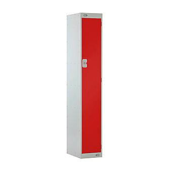 1 Door Locker 300X450X1800 Red Door