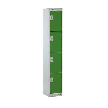 4 Door Locker 300X450X1800 Green Door